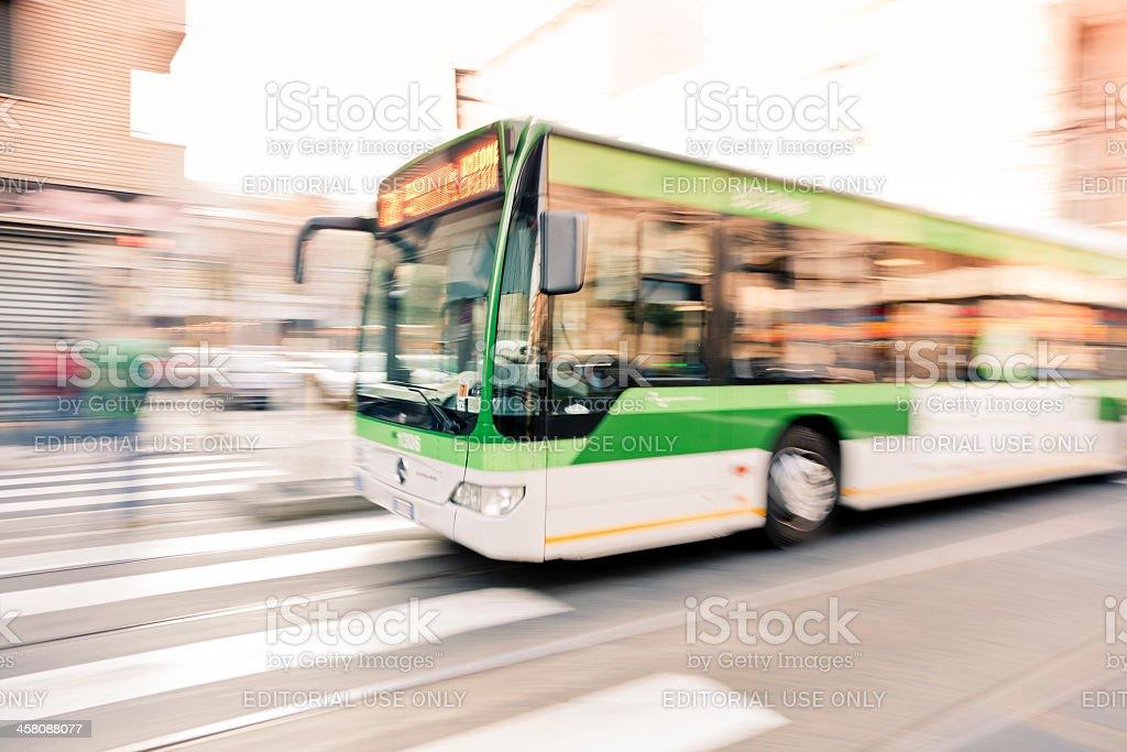 ATM autobus a Milano - foto stock