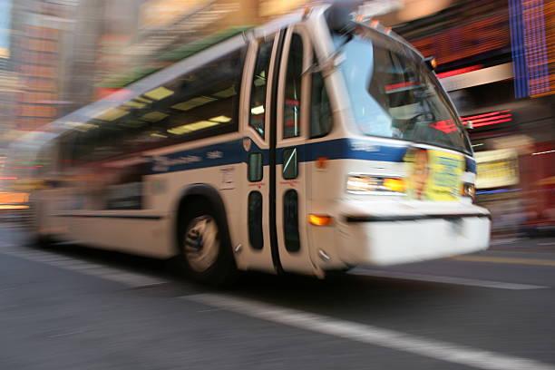 Autobús de la ciudad - foto de stock