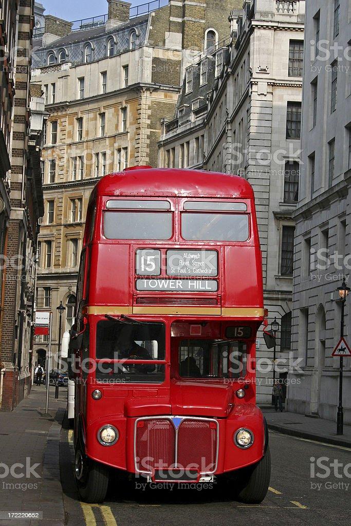 Bus - London stock photo