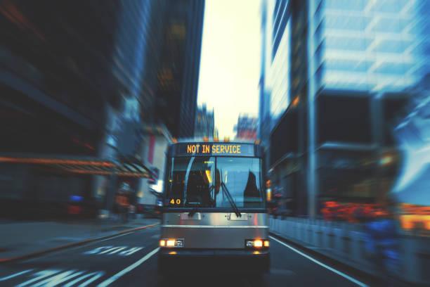 bus not in service - greve imagens e fotografias de stock