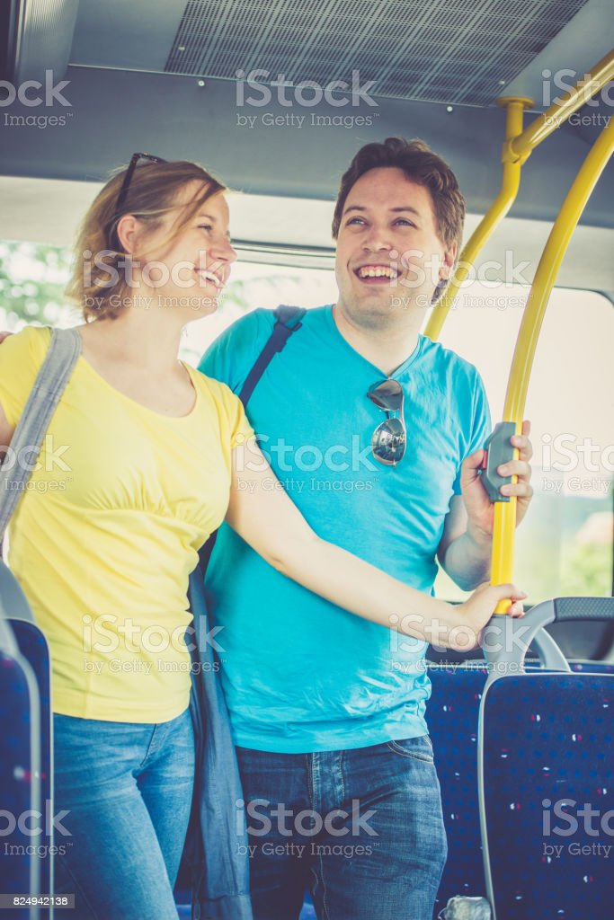 Bus ride - foto stock