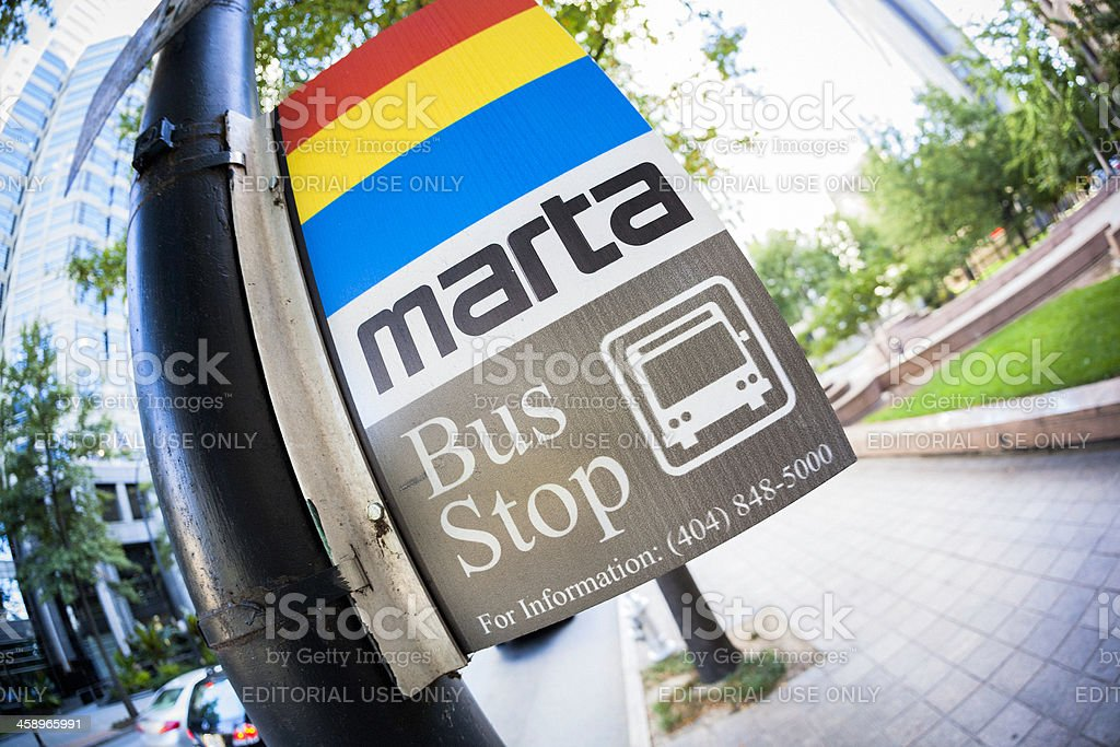 MARTA-Haltestelle in Atlanta – Foto