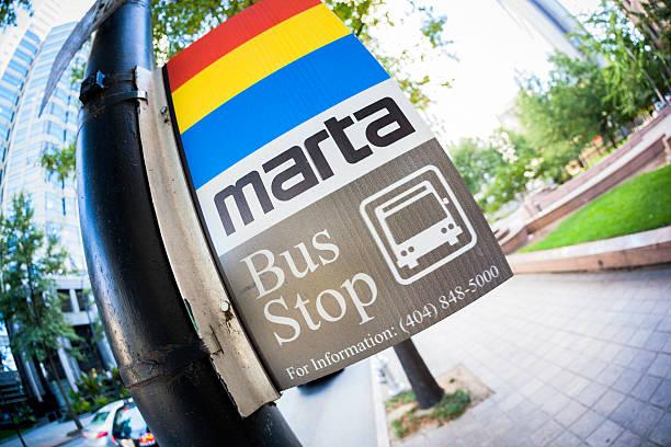 MARTA-Haltestelle in Atlanta – Foto