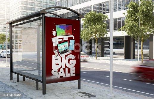 1036904778istockphoto bus stop technology sale marketing billboard 1041014932