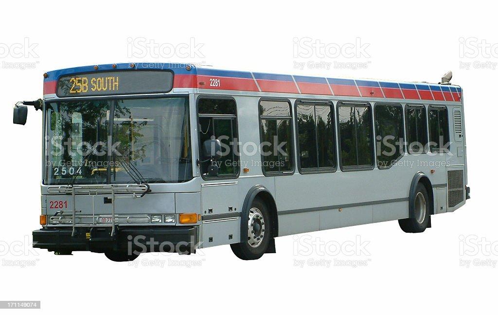 Bus transportation. royalty-free stock photo