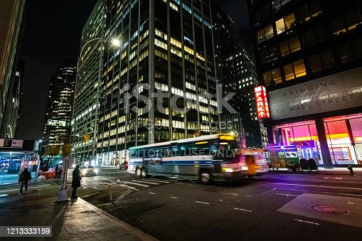 A New York's blue-and-white buses operate to more than 14,000 bus stops throughout the five boroughs. The city's bus system is run by the Metropolitan Transportation Authority (MTA) and known as MTA New York City Transit and it operates 24 hours a day, seven days a week