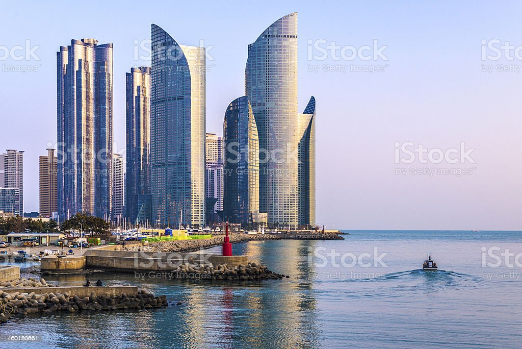 Busan Cityscape stock photo