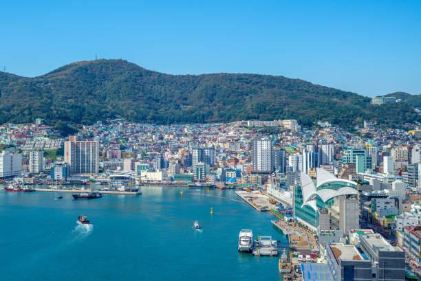 釜山港 - 釜山 ストックフォトと画像