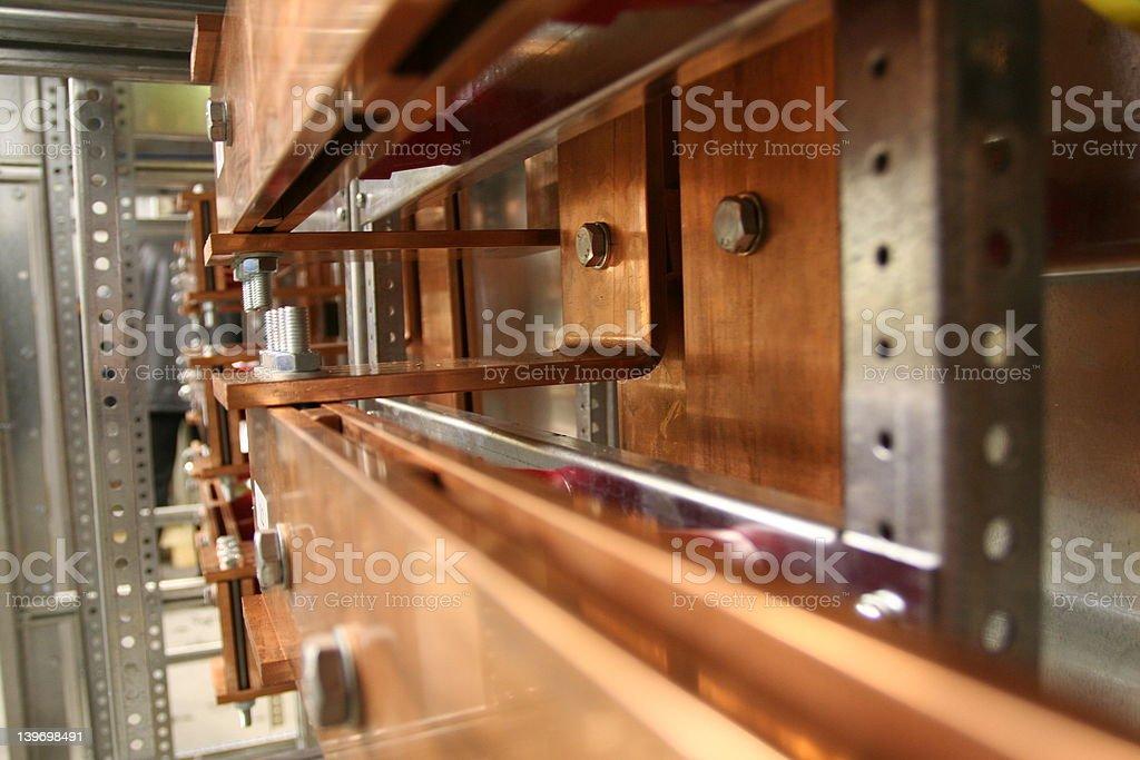 Busbar stock photo