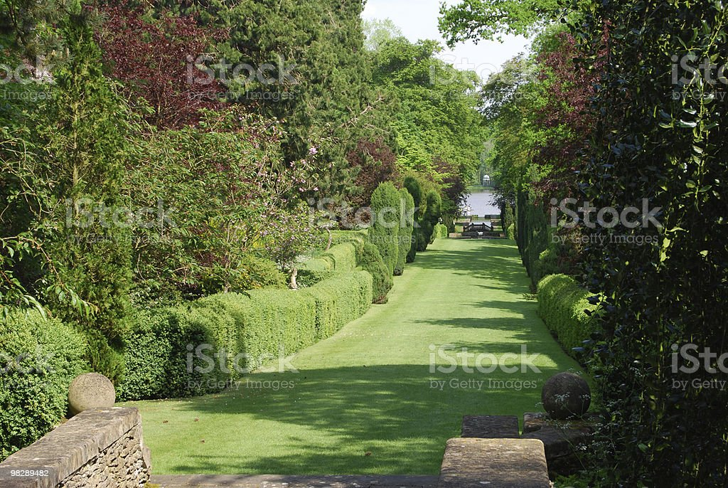 Buscot Park Gardens. Oxfordshire royalty-free stock photo