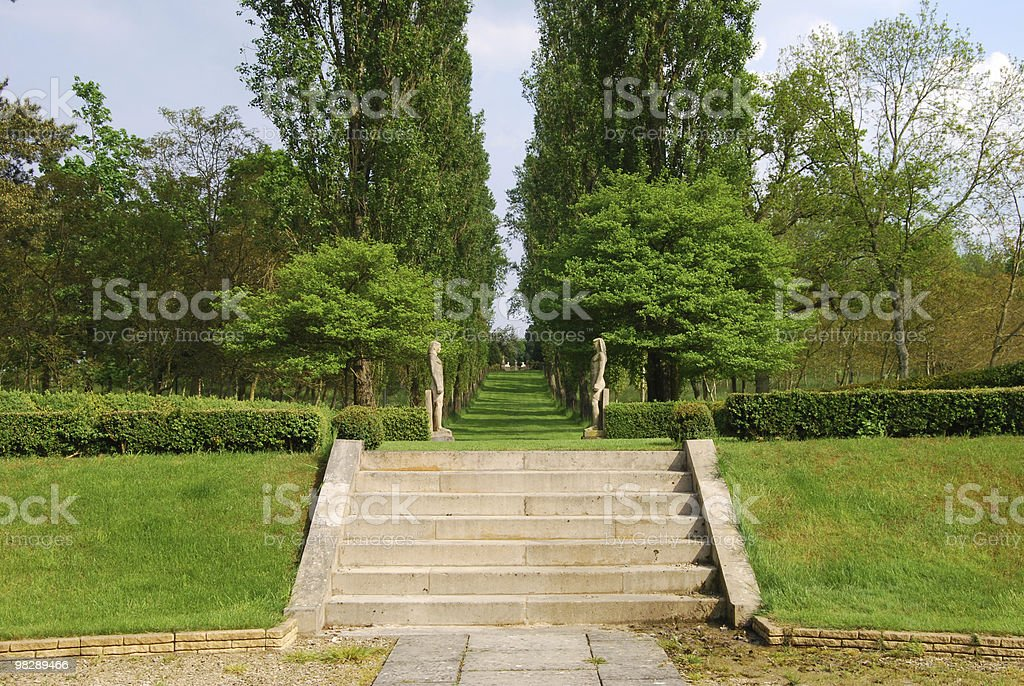 Buscot Park. Oxfordshire. England royalty-free stock photo