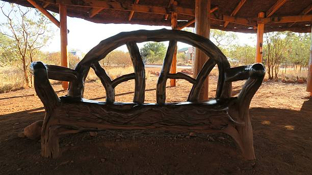 Bush armchair 01 stock photo