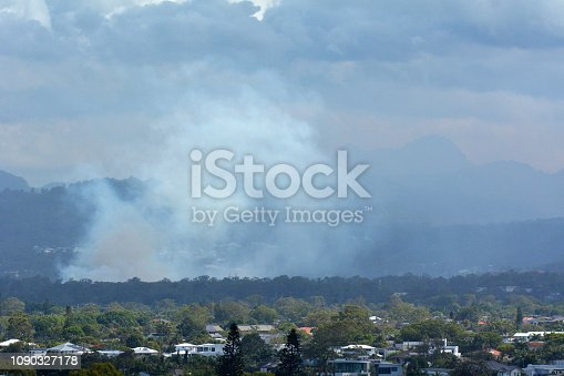 1195174769istockphoto Bush Fire in Queensland, Australia 1090327178