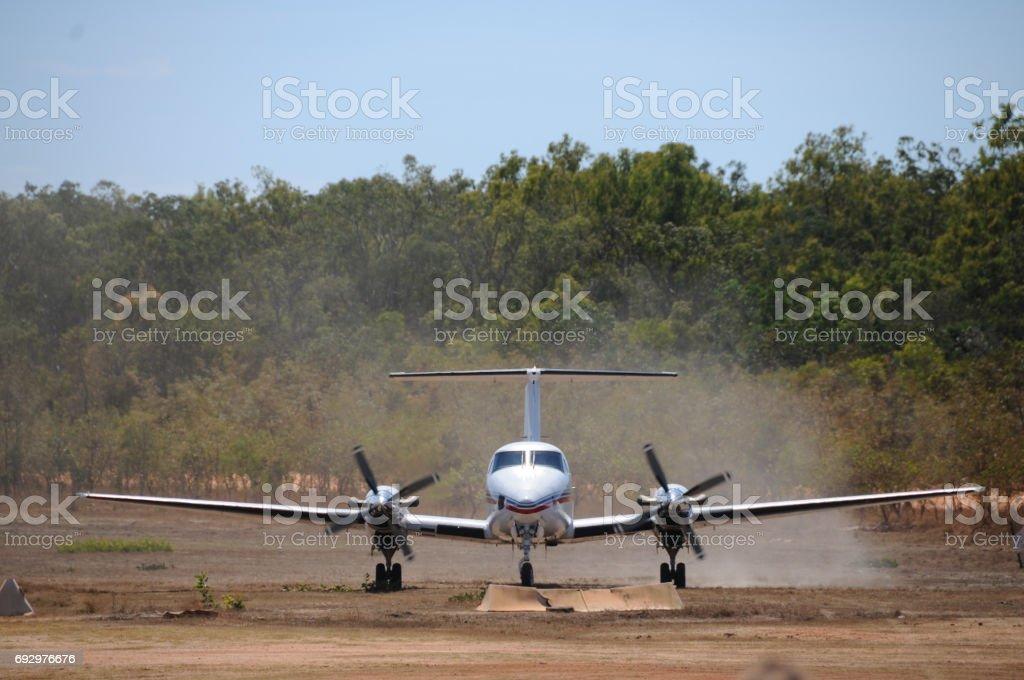 Bush Plane stock photo