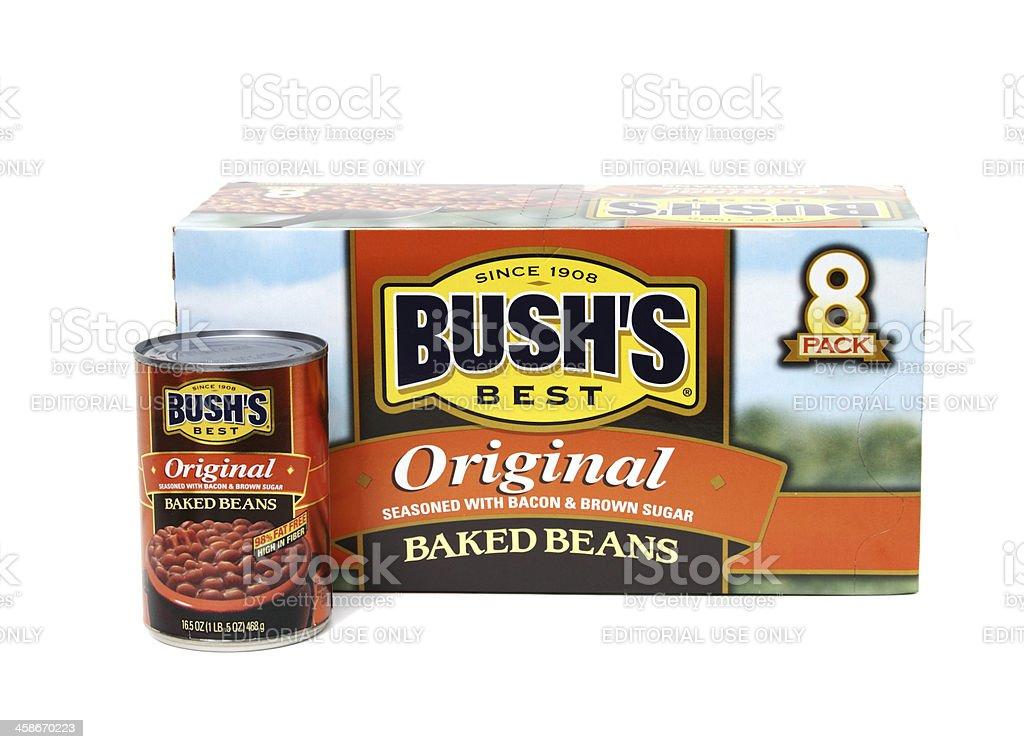 Bush's Original Baked Beans stock photo