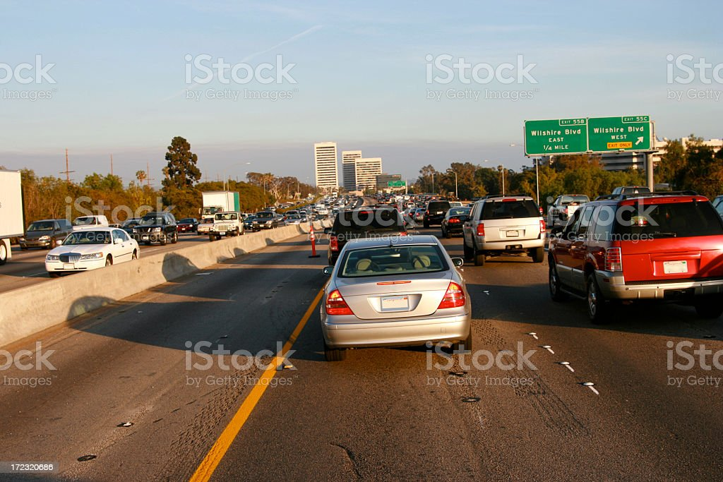 Busiest Traffic in the World royalty-free stock photo