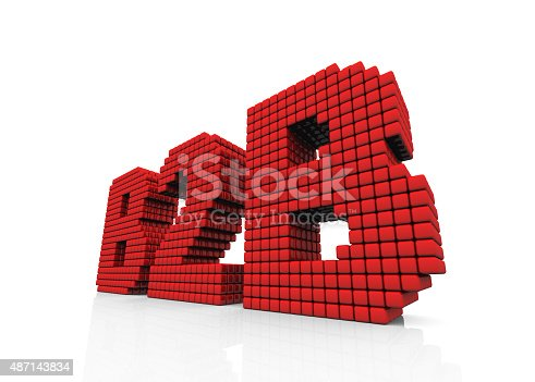 istock B2B business abbreviation with pixel effect on white background 487143834