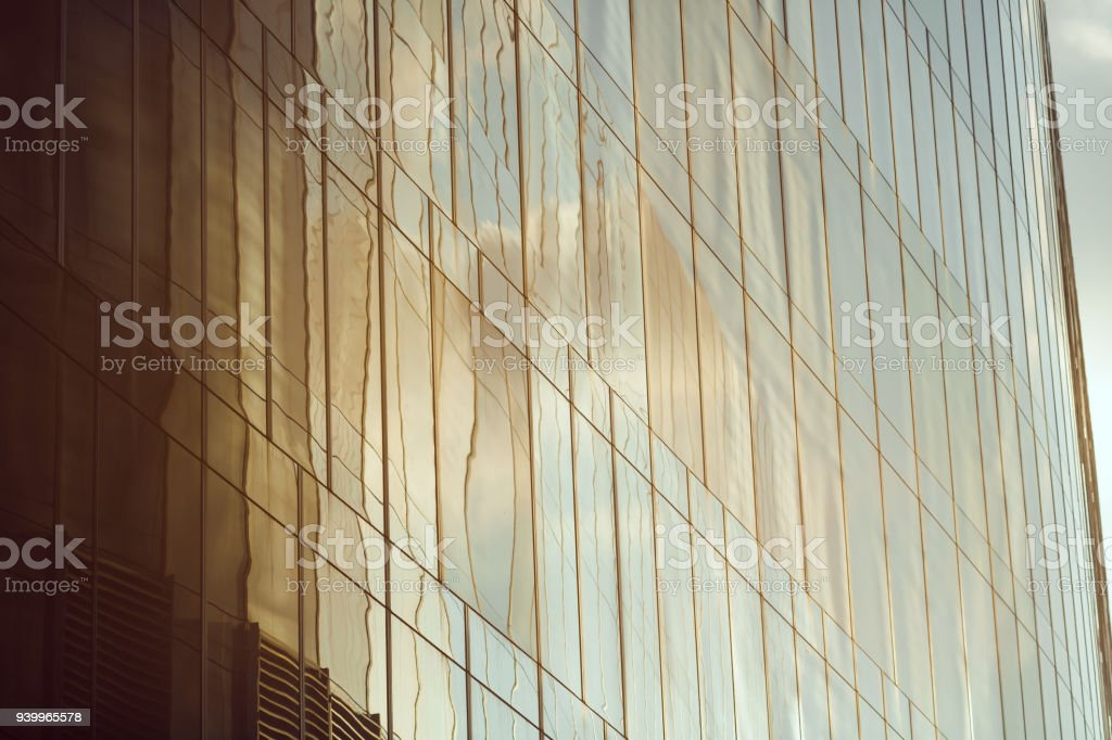 Business abstract - modern office building stock photo