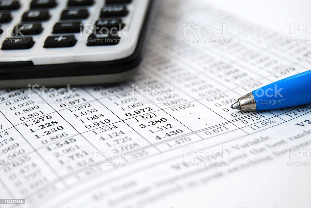 Business accounting!!! royalty-free stock photo
