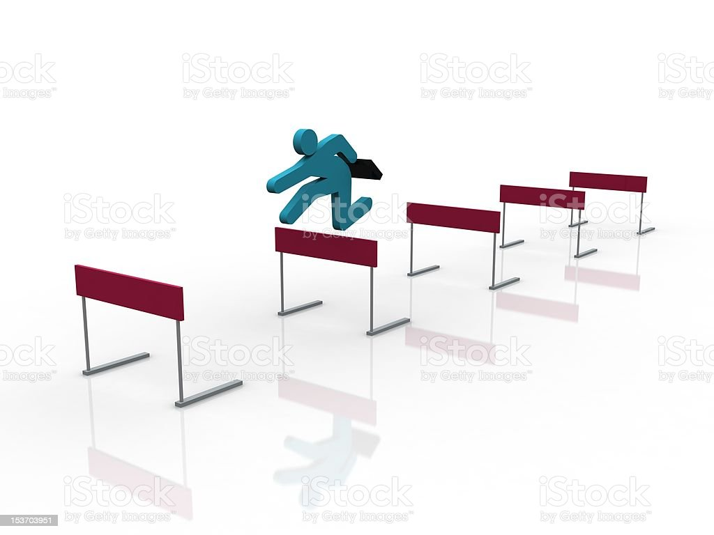 Business achievements royalty-free stock photo