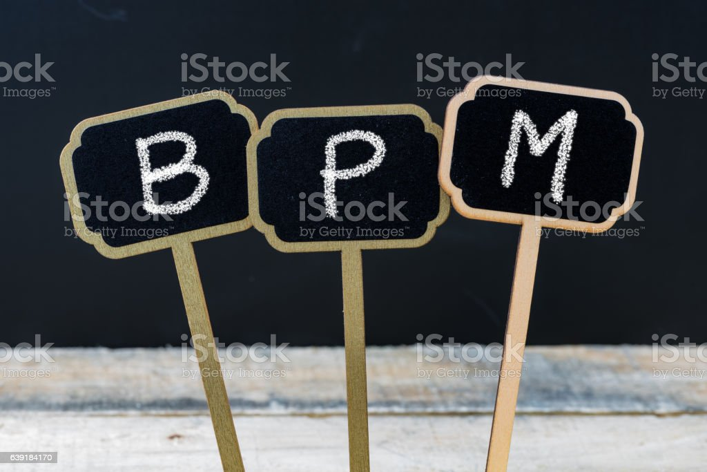 Business acronym BMP as Best Management Practices stock photo