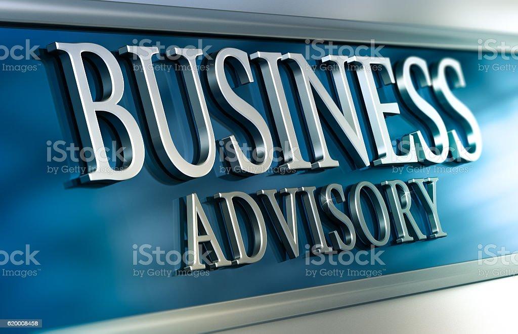 Business Advisory zbiór zdjęć royalty-free