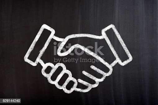 istock Business agreement handshake 529144240