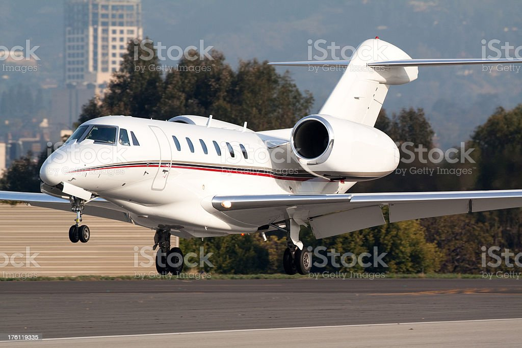Business Aircraft royalty-free stock photo