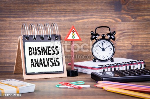 istock Business analysis concept 1142205283