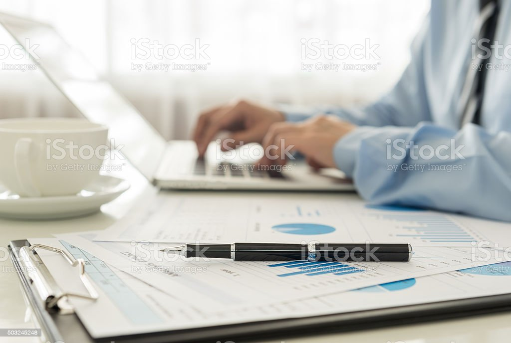 Business Analysis stock photo