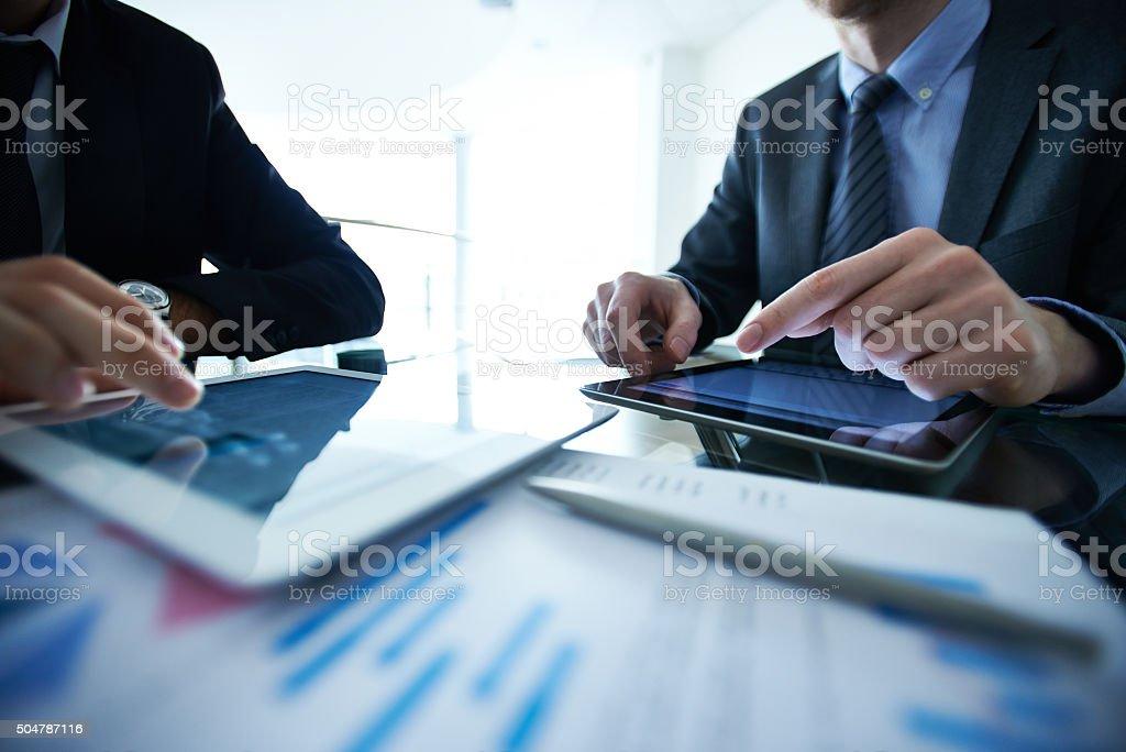 Business analysis stock photo