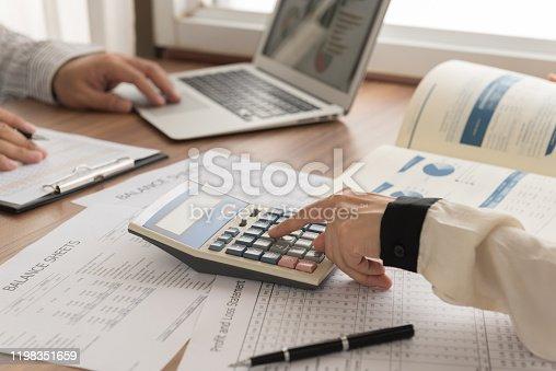 950986656 istock photo Business analyst team 1198351659