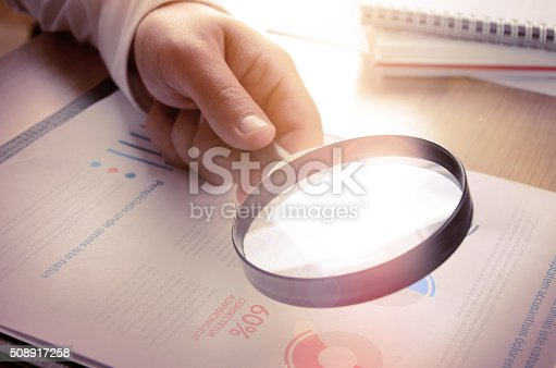 istock Business analytics and statistics 508917258