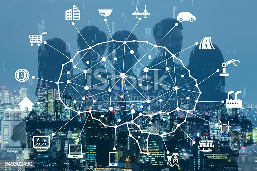 istock Business and AI(Artificial Intelligence) concept. 949302490