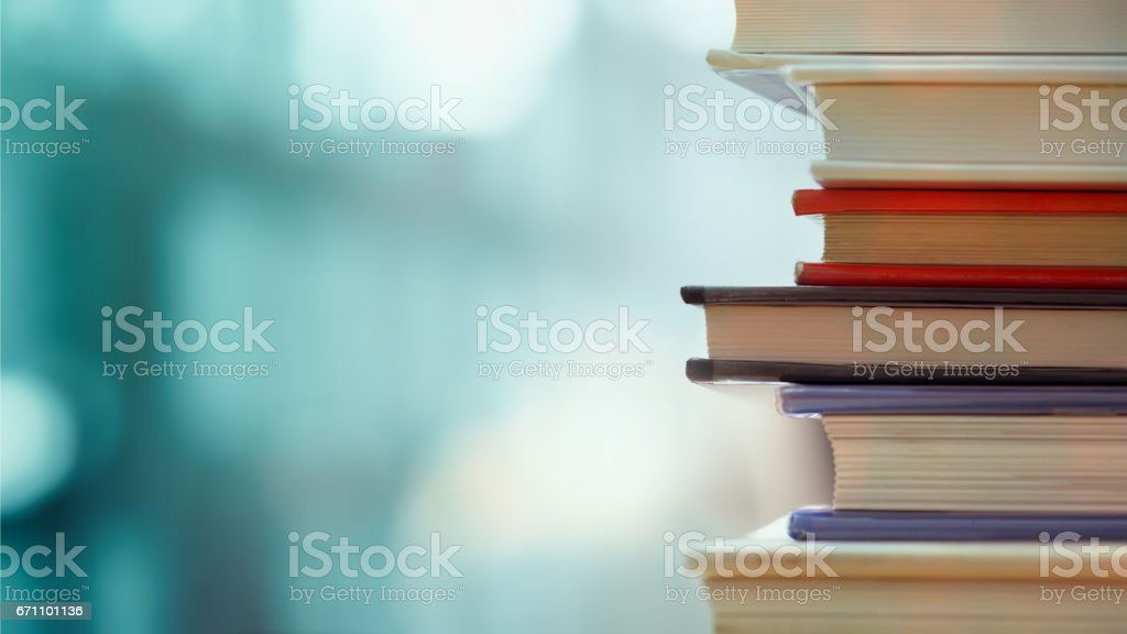 Business and education background stock photo