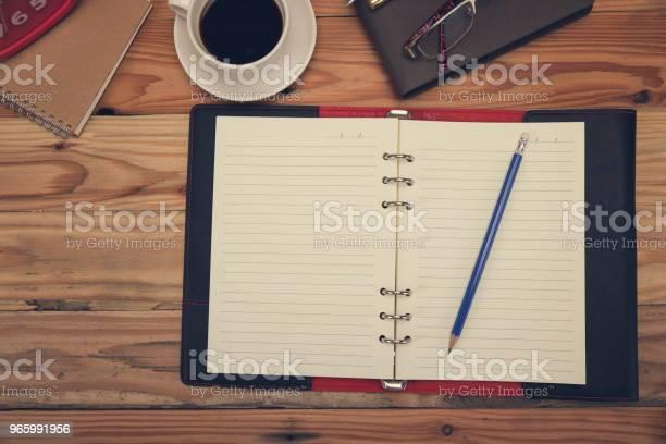 Business En Financiën Concept Van Office Werkt Bureau In Werkdag Bovenaanzicht Stockfoto en meer beelden van Accountancy