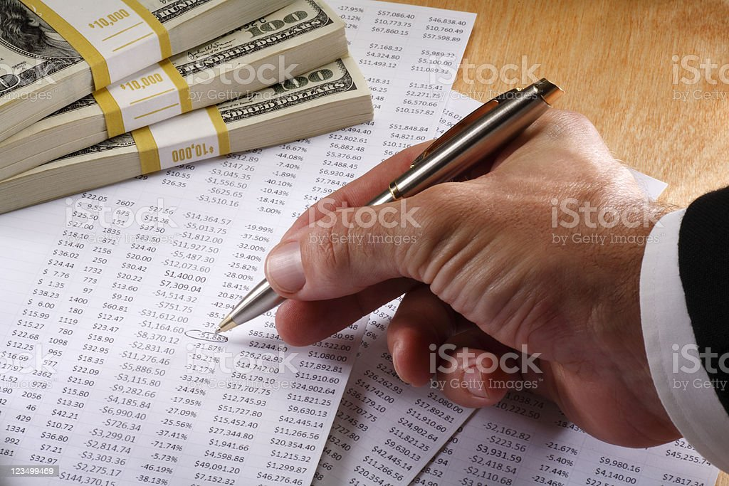 Business and Finance royalty-free stock photo