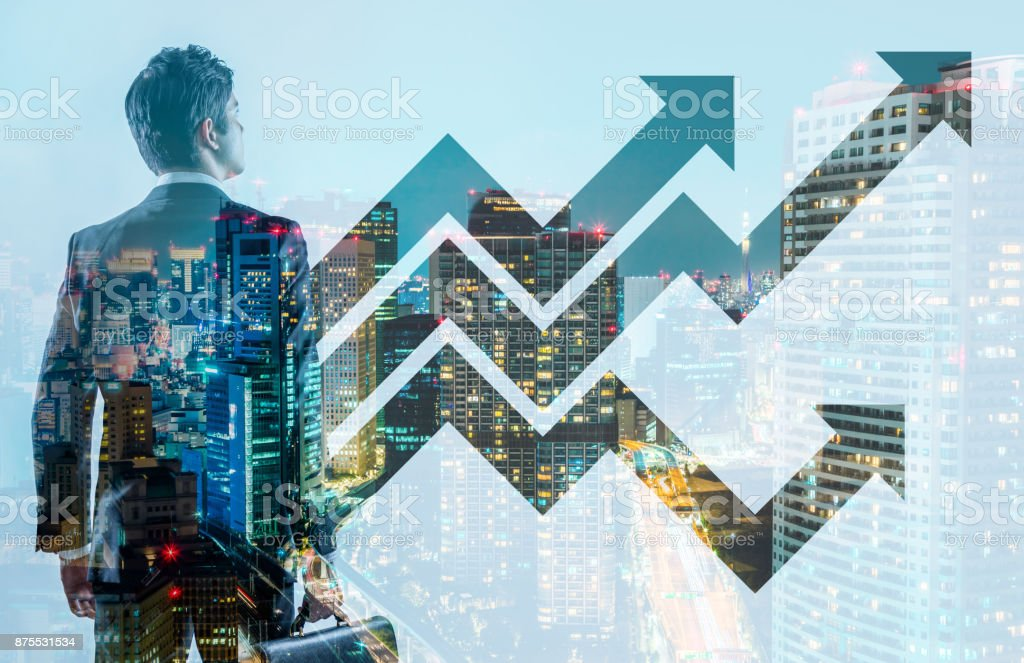 Business and growth concept. royalty-free stock photo