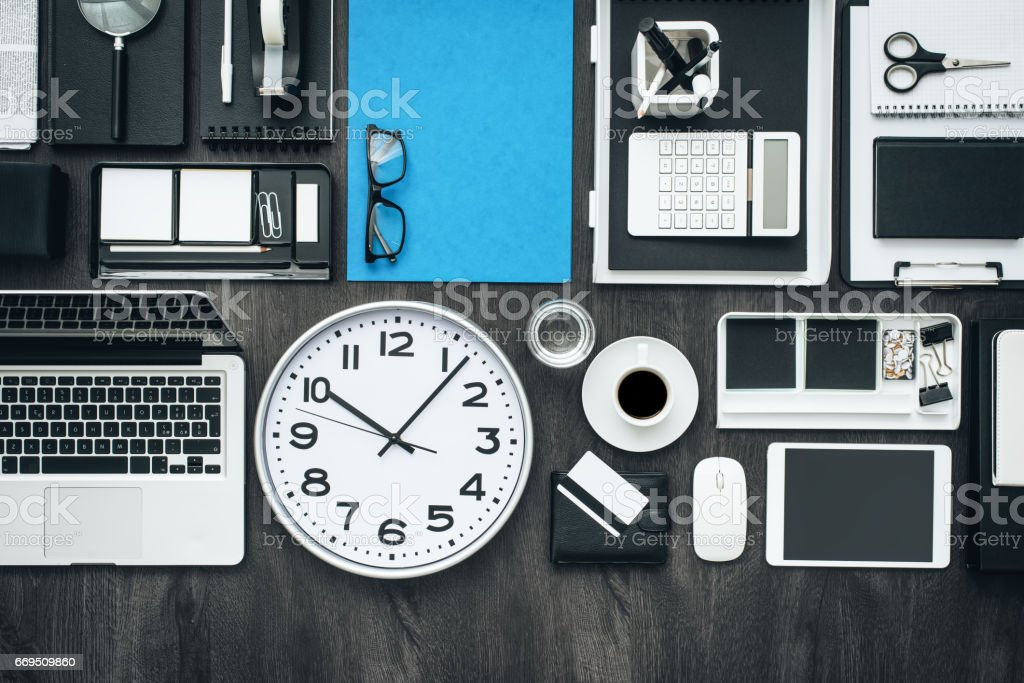 Business and productivity stock photo