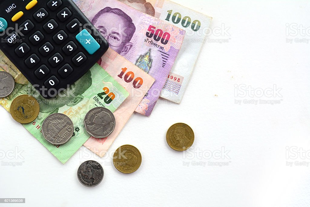 business and savings financial concept stock photo