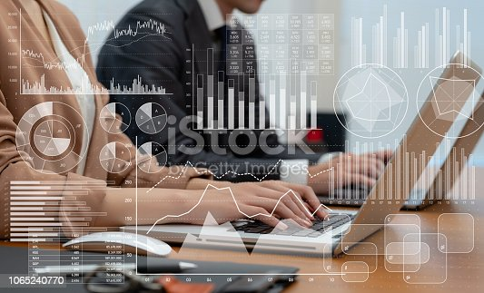 1170082011 istock photo Business and statistics concept. 1065240770