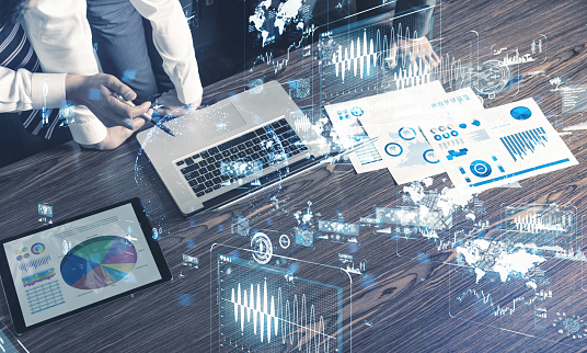 Business And Technology Concept Stock Photo - Download Image Now