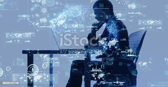 1154261912 istock photo Business and technology concept. 966835248