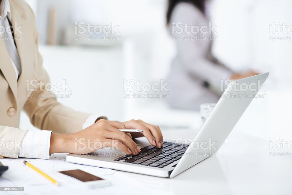 Business and technology stock photo