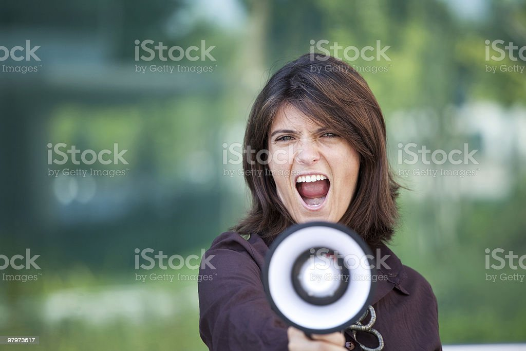 Business announcement royalty-free stock photo