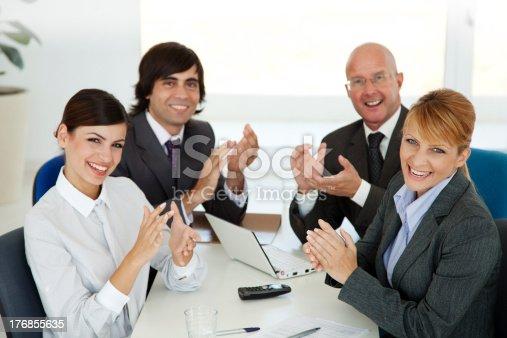 1031822210 istock photo business applaud 176855635