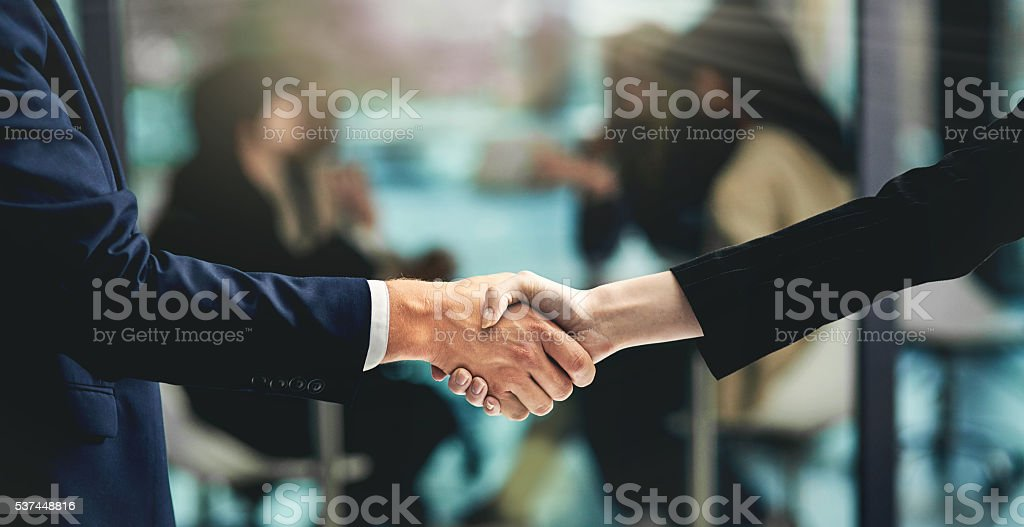 Business approvals stock photo