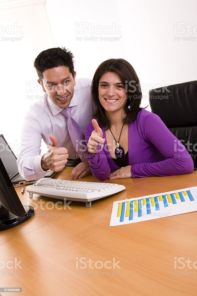 Business approved royalty-free stock photo