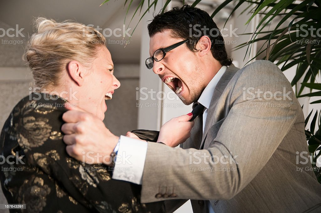 Business Argument royalty-free stock photo