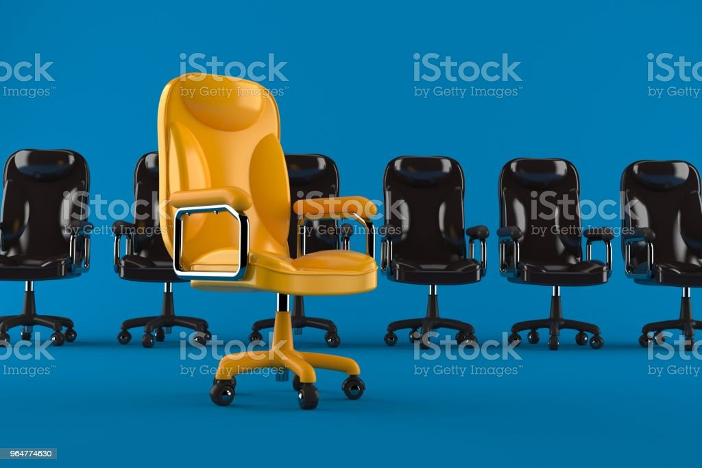 Business armchairs royalty-free stock photo